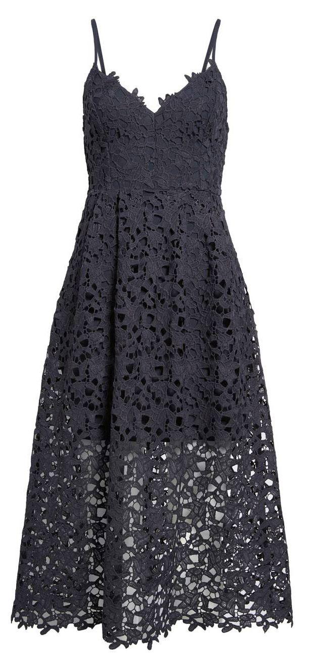 Lace Midi Dress Under $100