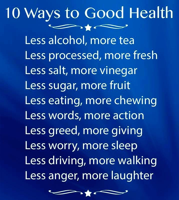 Good Health Quotes Mesmerizing 10 Ways To Good Health Quotes Scripture Verses And Good