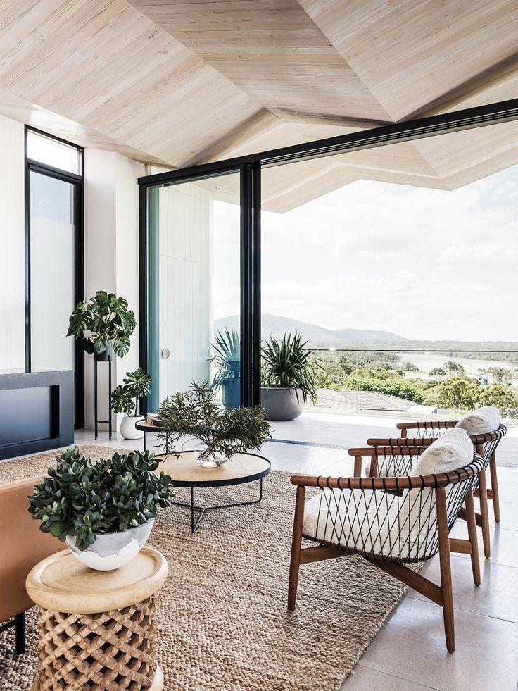 California Home Accents Style Coastal Apartment Australian Interior Design Home