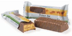 Chocolate Protein Bars contain 10 grams of protein and are ideal as a snack. They come in three flavours, will give you extra energy, are filling and I love them all ! More details can be found by clicking on the weight tab on www.herbalenergyforyou.info