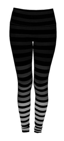 K-DEER Leggings - Jody Stripe