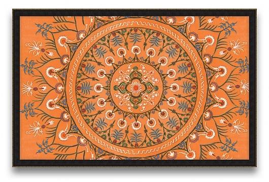 love the orange colour ... via redoitdesign.com