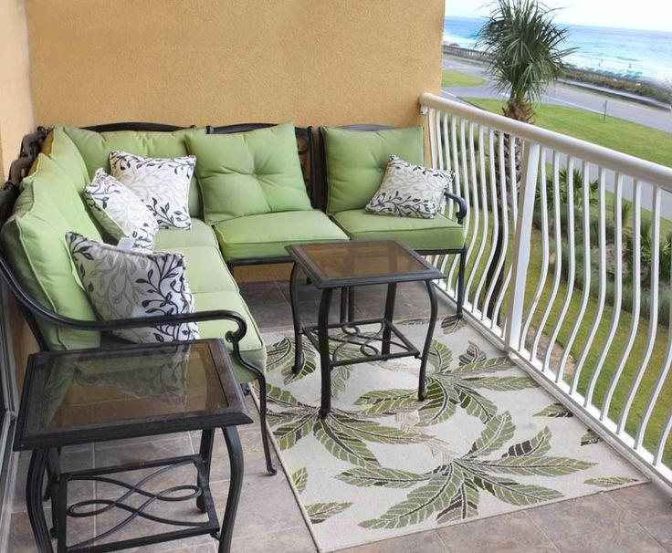 Miramar Beach Condo Balcony - Destin