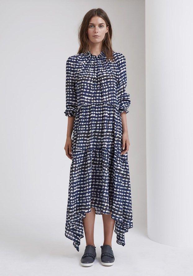 Sally Phillips – Adelaide Fashion Designer -  CLEMENTE DRESS - MOCCHIA