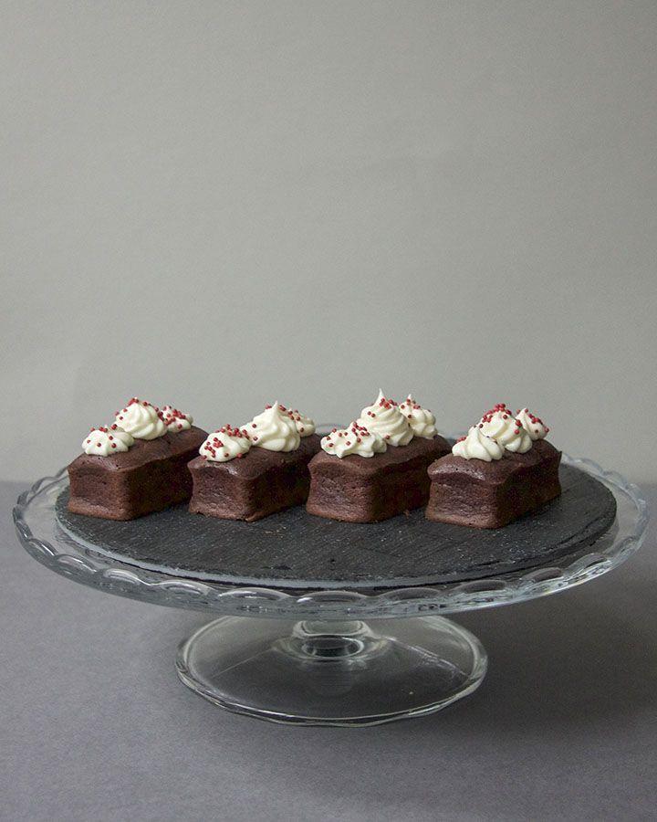 Mini Red Velvet Loaf Cakes