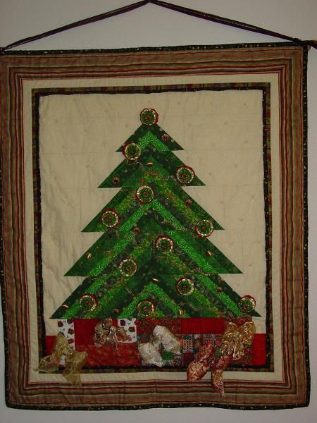 Best images about quilted christmas trees on pinterest