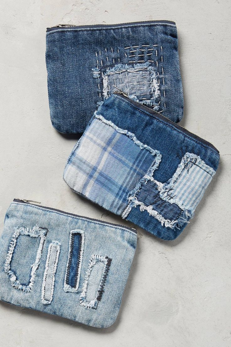 Shop the Petite Patchwork Denim Pouch and more Anthropologie at Anthropologie today. Read customer reviews, discover product details and more.