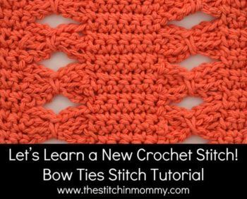 ... intermediate ties stitch stitch tutorials crochet tutorials shells