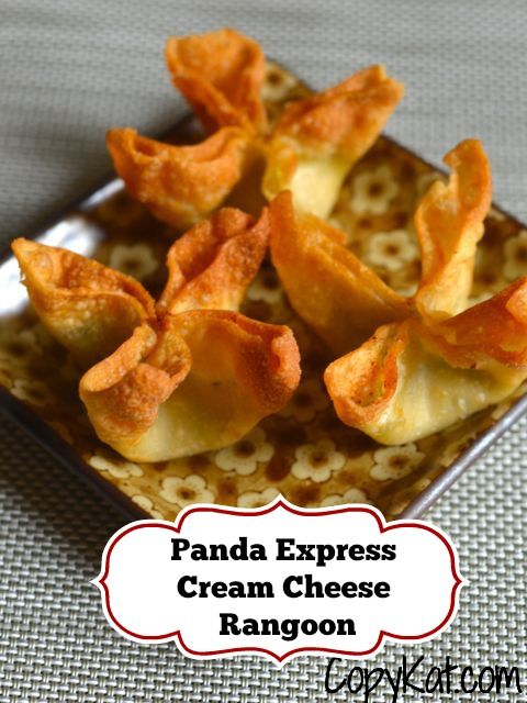 Panda Express Crab Rangoon make this classic appetizer at home with his copycat recipe from CopyKat.com