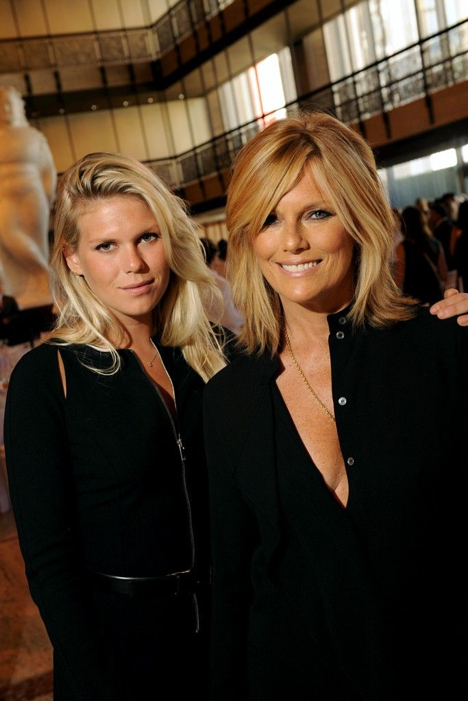 Keith Richards (Rolling Stones) daughter Alexandra Richards and wife and former model Patti Hansen