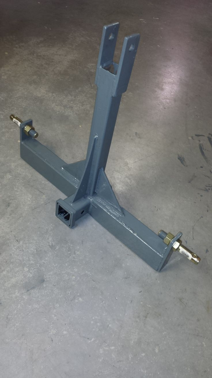 "Three point hitch receiver for B20 Kubota Tractor.  Has 2"" standard square tube for attachments."