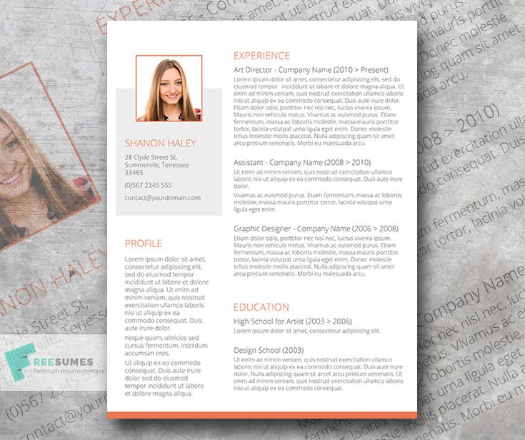 The 25+ best Creative cv template ideas on Pinterest Cv template - ex of a resume