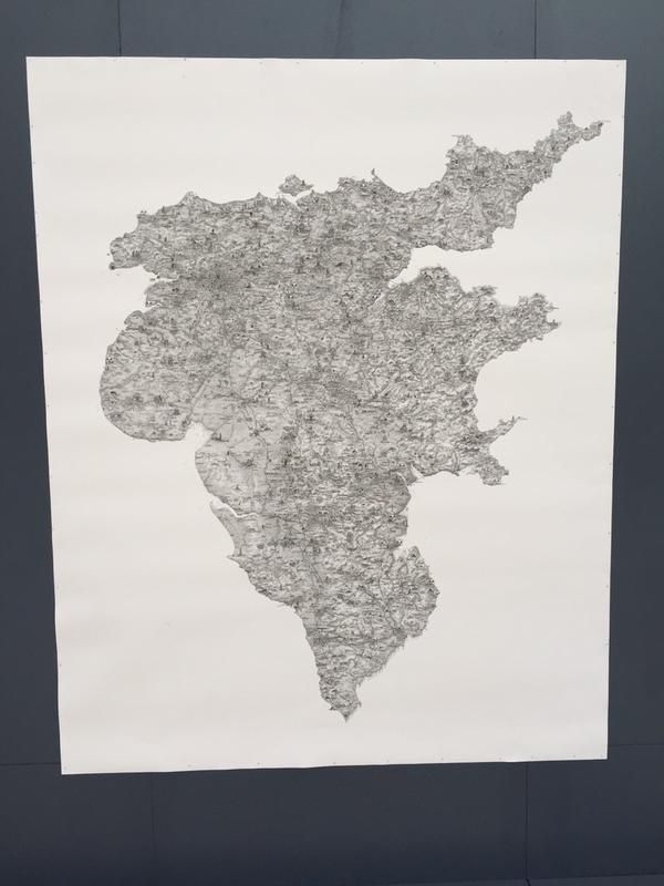 Stephen Walter map of TheFaerieLand 60 best