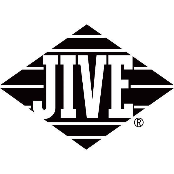 sony music logo. now defunct sony label - jive records music logo