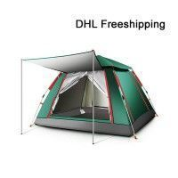 $85 3-4 Man family Instant Tent with Front Porch Camping Hiking Travel