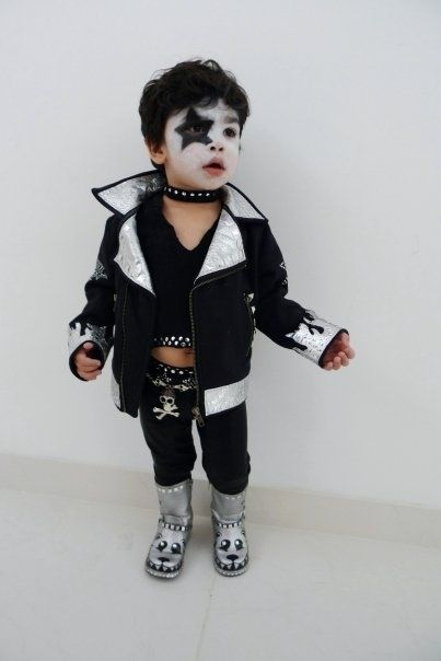 Paul Stanley from KISS | 30 Best DIY Kids Halloween Costumes Your Mom Never Made For You www.supergoodybag.com