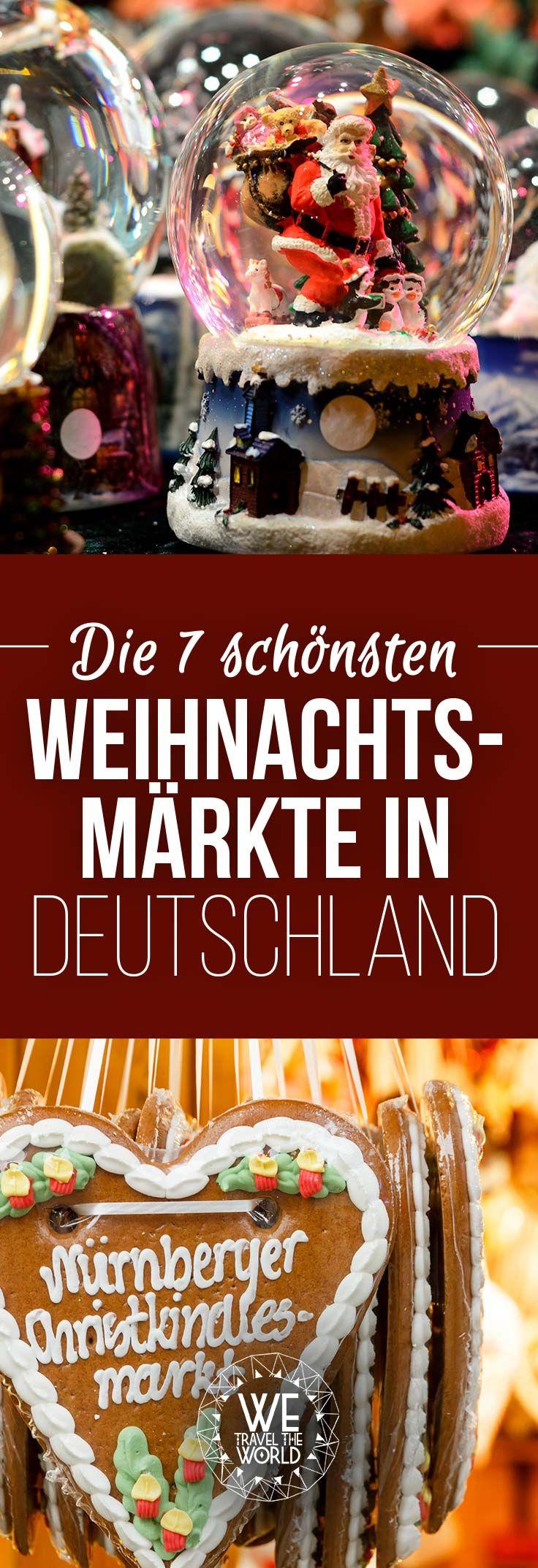 Schöne Weihnachtsmärkte Deutschland: Wir zeigen dir, dass sich eine Reise zu den besten Weihnachtsmärkten lohnt.