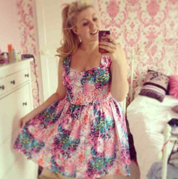 Louise lookng lovely @Louise SprinkleofGlitter where did you get this dress? its divine :D