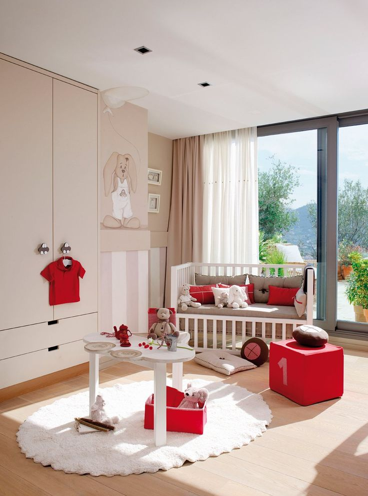 Nursery to Toddler's Room :) I love the built in, it's very similar to the built in, in Armani's room.: