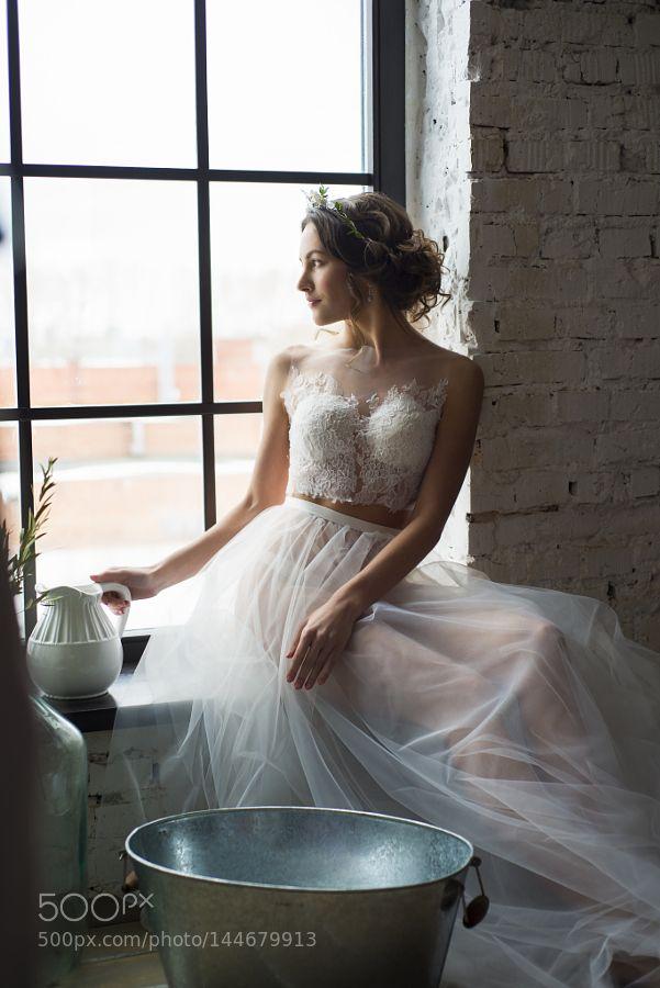 bride's morning by AleksandraGornago. Please Like http://fb.me/go4photos and Follow @go4fotos Thank You. :-)