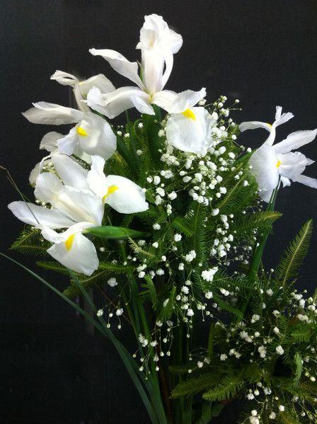 Topiario Blanco, Ideal para bautizos o Primeras Comuniones