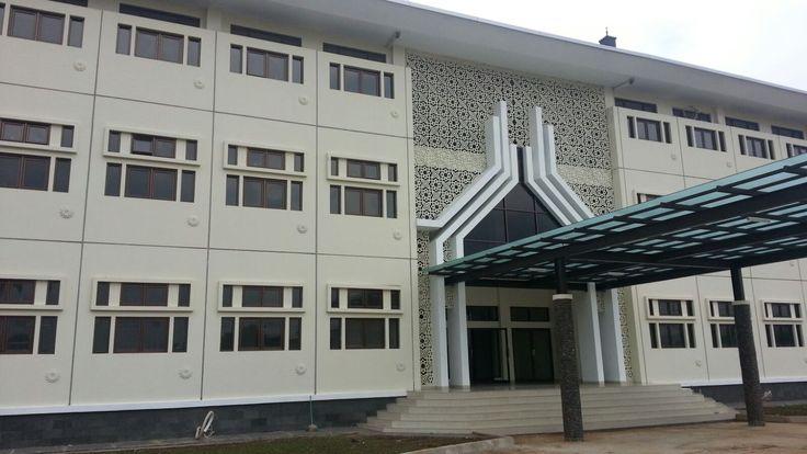 UIN Sunan Gunung Jati – Pile, HCS, Facade – Bandung