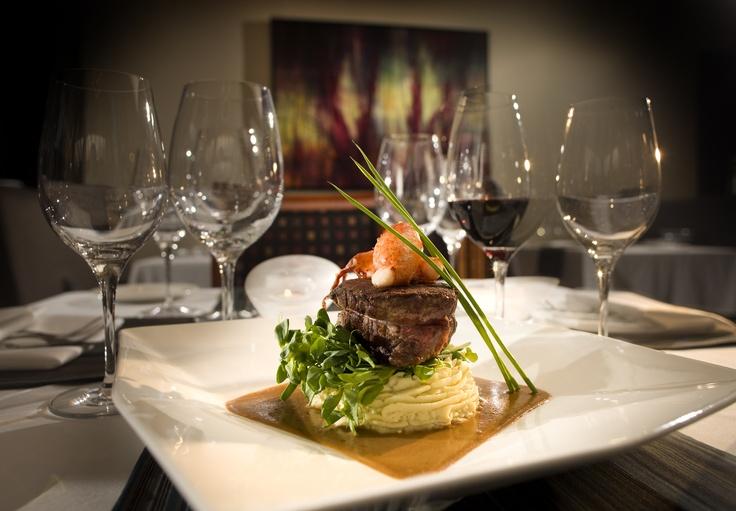 Carver's Steak House, Calgary. Looks delish to us!