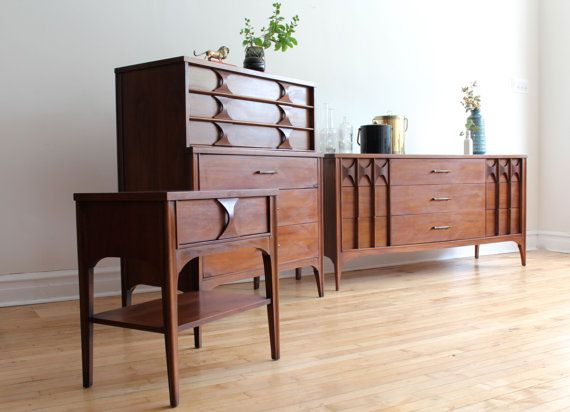 kent coffey perspecta mid century modern bedroom set by 16189 | 4bd513f32b08446998cd623b9945cdfe