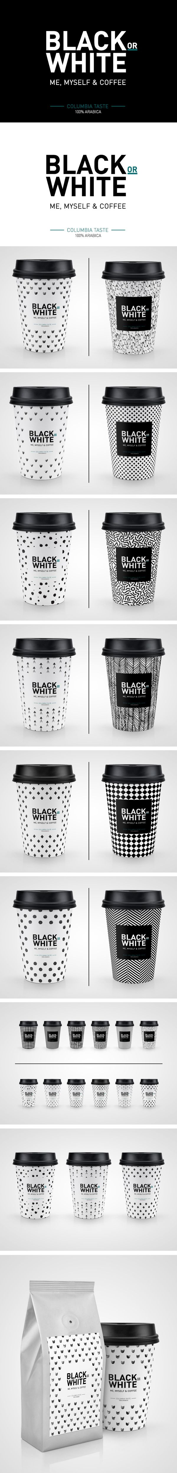 Black or White Coffee Mock-up on Behance