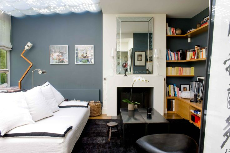 etageres mur noir sous escalier sarah lavoine bibliotheque pinterest spaces. Black Bedroom Furniture Sets. Home Design Ideas
