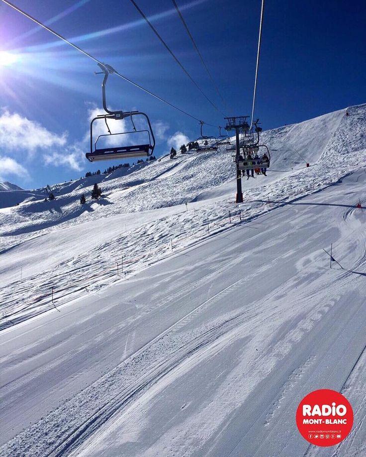 [#InstaRMB] Allez...on à tous envie de revivre ces journées là !!! #radiomontblanc #ski #perfectday #winteriscoming #rmbinside #hautesavoiexperience #saintgervais