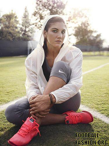 Hope Solo Presents the Nike Women's Training Summer 2012 Range