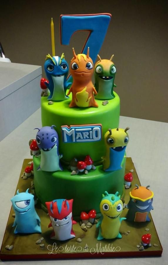 Slug terra cake - Cake by Matilde