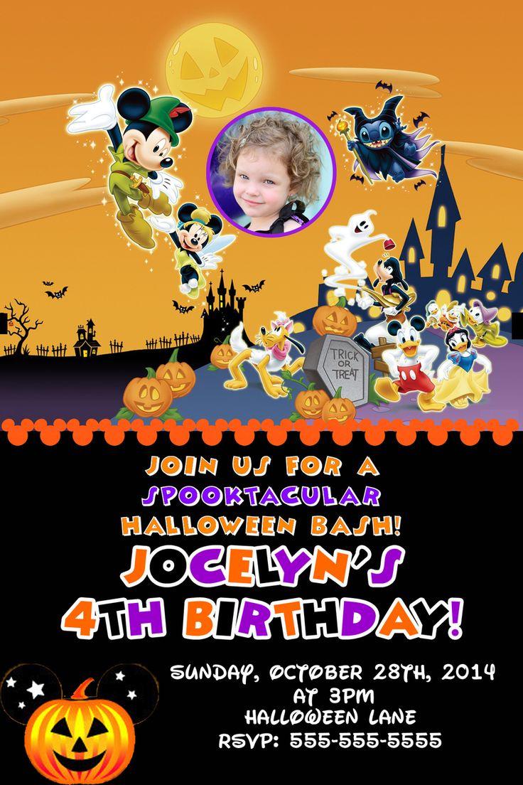 Best 20+ Halloween birthday invitations ideas on Pinterest ...
