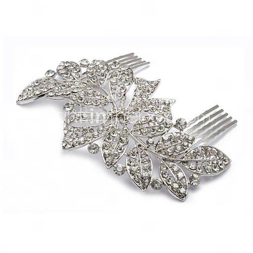 Diamond 1920s comb