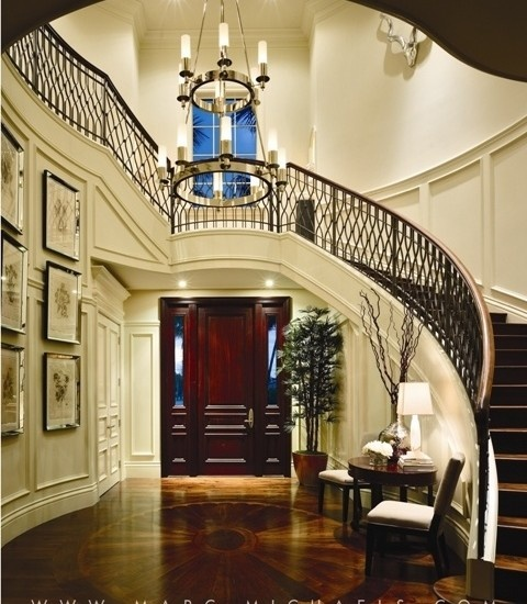 Foyer Curved Staircase : Best foyer hallway images on pinterest