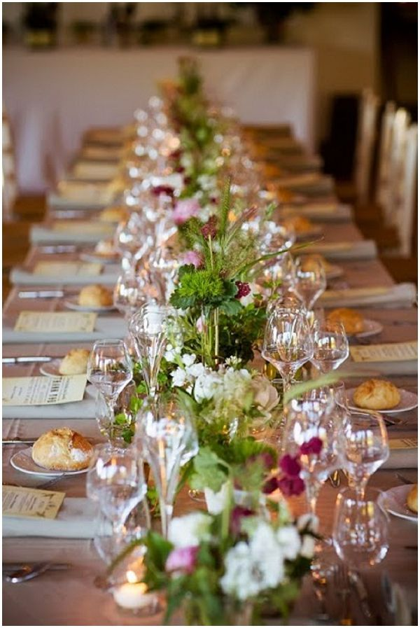 Rustic wedding style   Photography © Jean-Louis Brun, Styling by Fête in France on French Wedding Style Blog