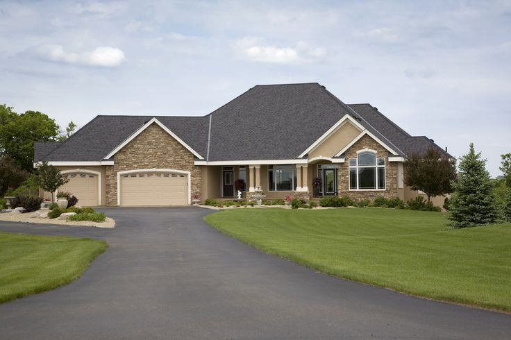 14 best Home Exteriors images on Pinterest  Floor plans, Custom homes and Exterior homes