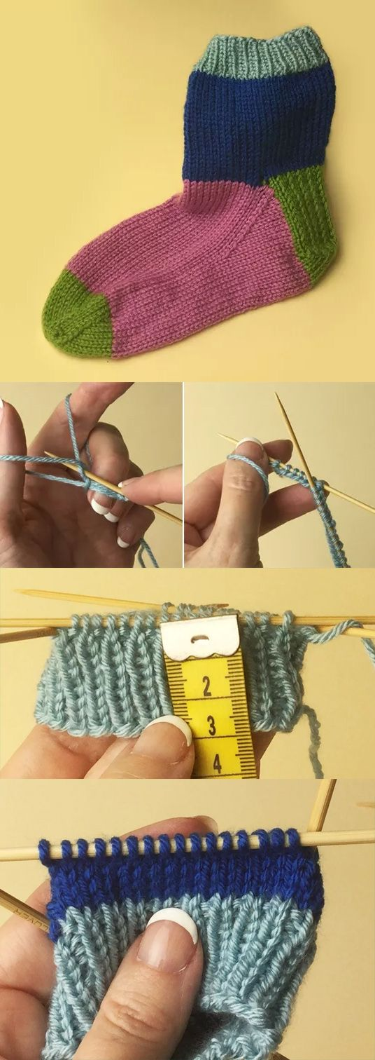 Simple Sock Tutorial With Free Sock Pattern by Mary Beth Temple - looks like a…