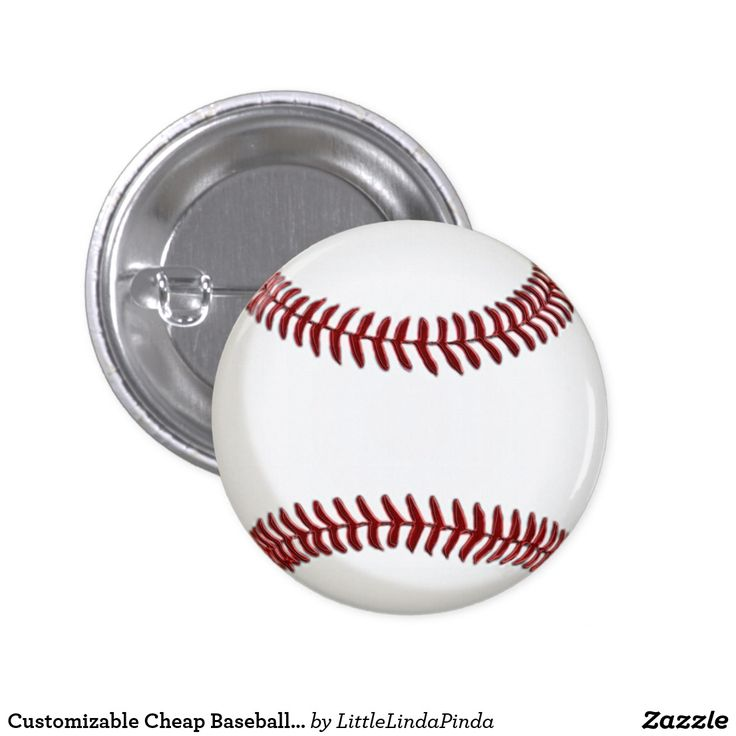 Customizable Cheap Baseball Party Favors Baseball Buttons in many sizes. CLICK: https://www.zazzle.com/z/3nah3 Super cheap yet fun baseball giveaways for your baseball themed baby shower favors, baseball birthday party favors and baseball giveaways at your team party. You can even add your own TEXT to create personalized baseball souvenirs for kids to adults. MORE HERE: http://www.zazzle.com/littlelindapinda/gifts?cg=196071813227233227&rf=238147997806552929 Lots more Baseball party stuff.