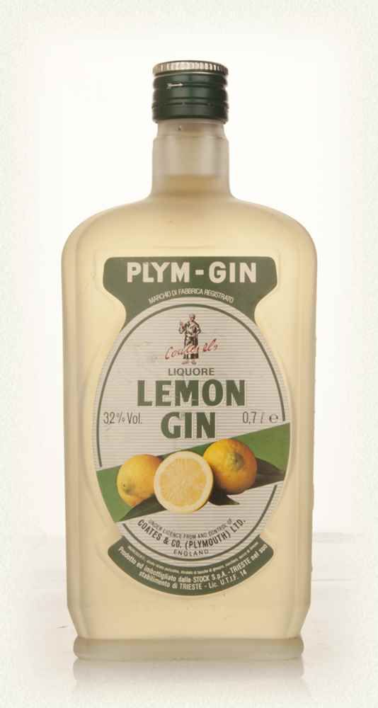 Plymouth Lemon Gin - Early 1980s