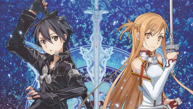 Sword-Art-Online - Kirito and Asuna #SAO
