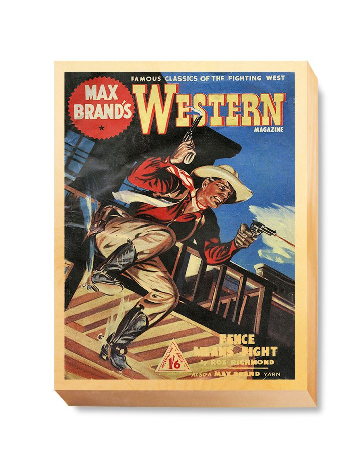 WES 018 Western Comic Max Brand's