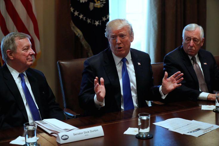 Trump defends 'tough' language but denies calling Haiti El Salvador and African nations 'shithole countries'