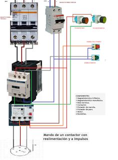 130 best electrical images on pinterest electrical engineering mando de un contactor con realimentacion y a impulsos asfbconference2016 Gallery