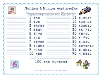 how to write long numbers in words
