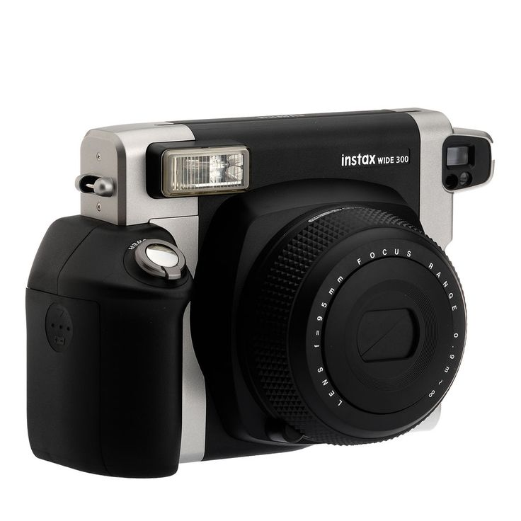 Capture your precious moments in a wide format with the Instax WIDE 300. Creating pictures that are twice as wide as Instax mini images, this large film is well suited to photography at parties and other gatherings.
