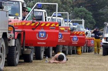 Tasmania fire trucks