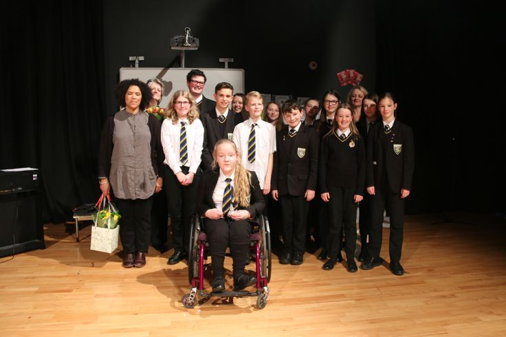 Poetry at Ralph Thoresby School with poet Rommi Smith