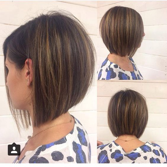 Cute A-Line Bob Hairstyles for Women